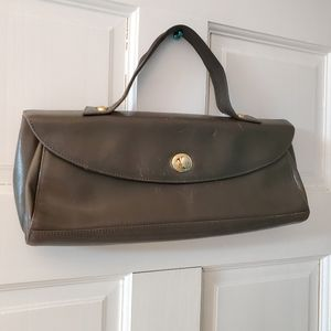Vintage Hobo International classic brown leather f